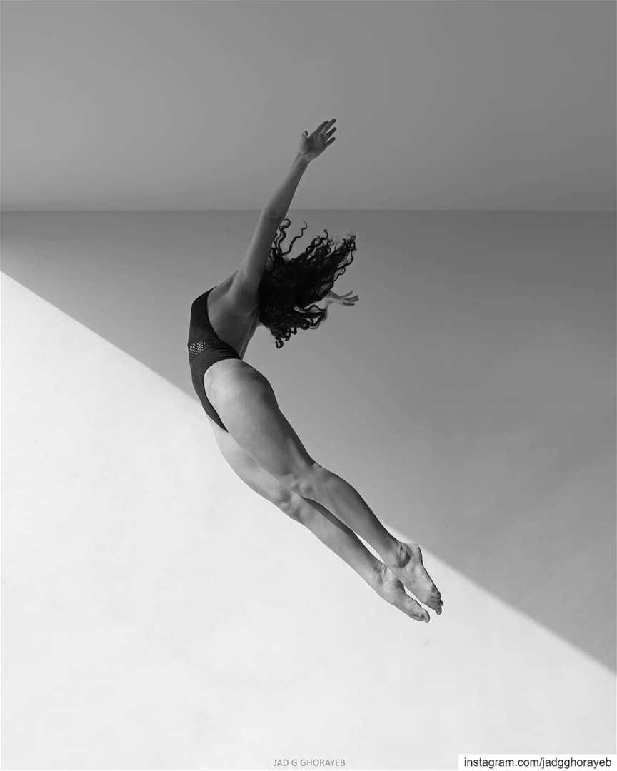 \ Yas \.In Frame: @yasminmasri1998. jump gymnastic ballet ... (Beirut, Lebanon)