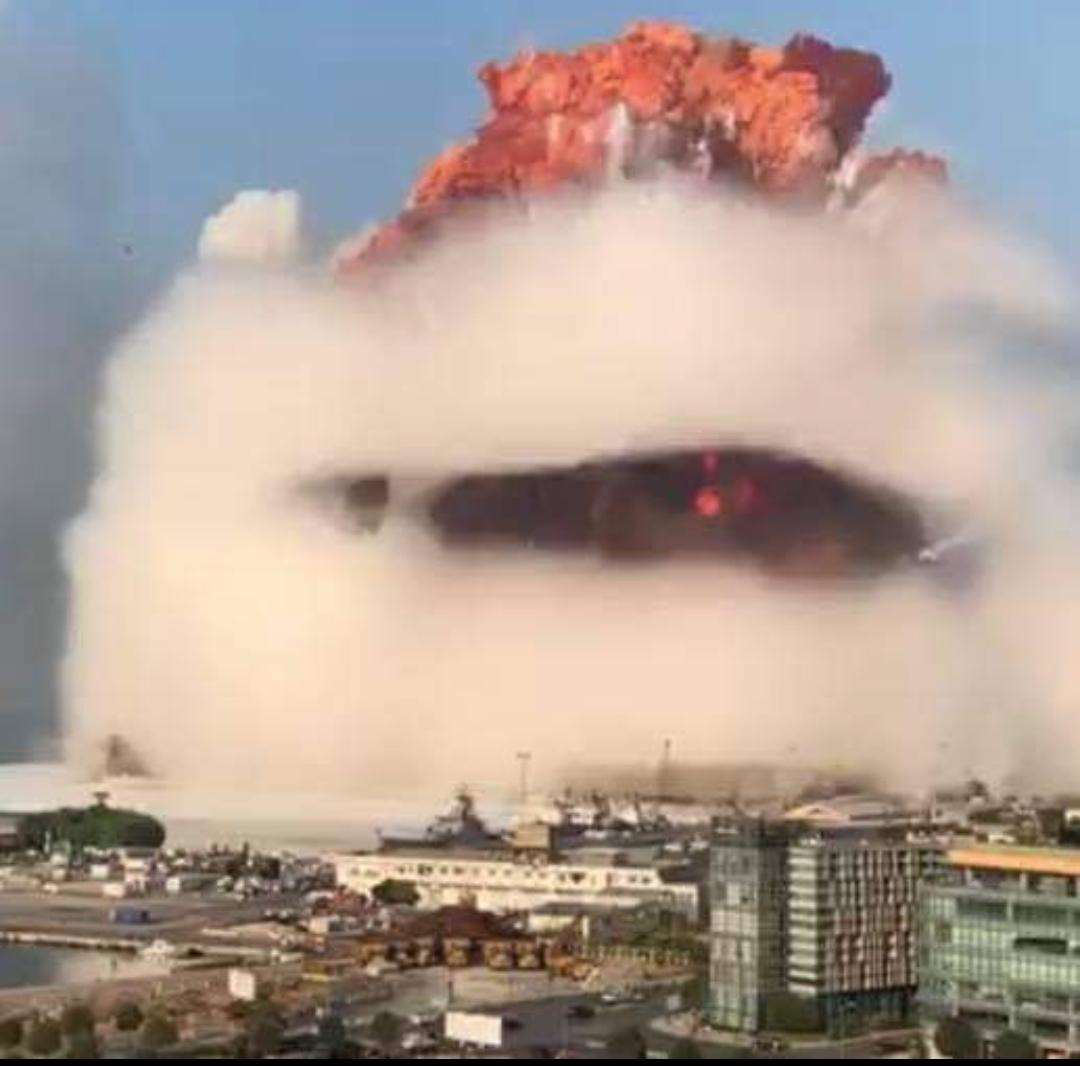 Beirut Port Blast August 4, 2020 (The closest you can get to a Nuclear Bomb)