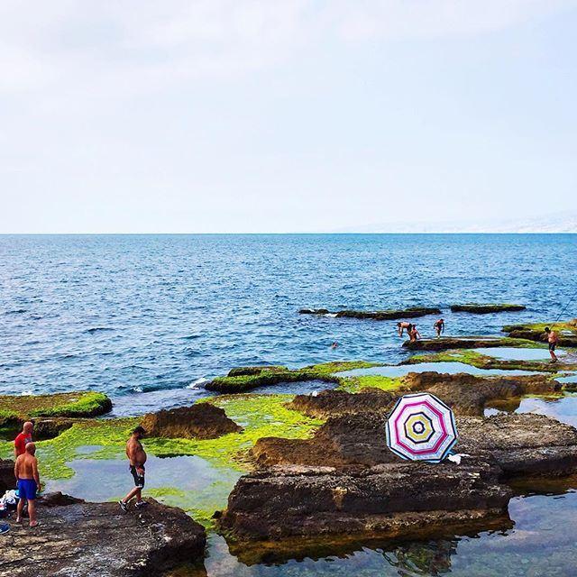 """I am the infinite sea."" _ Khalil Gibran. Good morning Beirut! 🌞☕️🇱🇧 beautiful summer igers (Corniche, Beirut)"