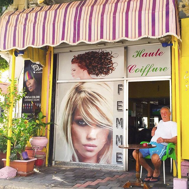 Haute Coiffure for ladies 👩🏼👩🏻 Good morning Beirut! ☕️☀️🇱🇧 (Mar Mikhael, Beirut)