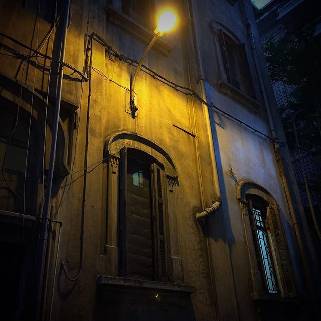 When the night has come (Achrafieh, Beirut)
