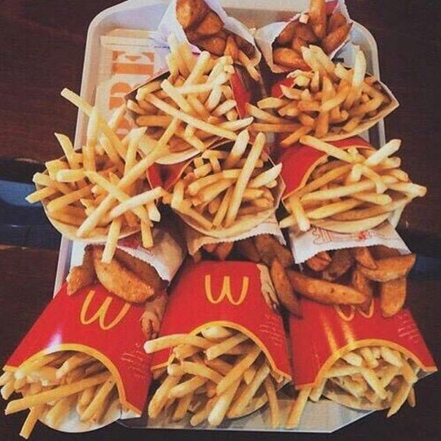 French fries dinner @McDonaldsLeb  (McDonald's Mansourieh)