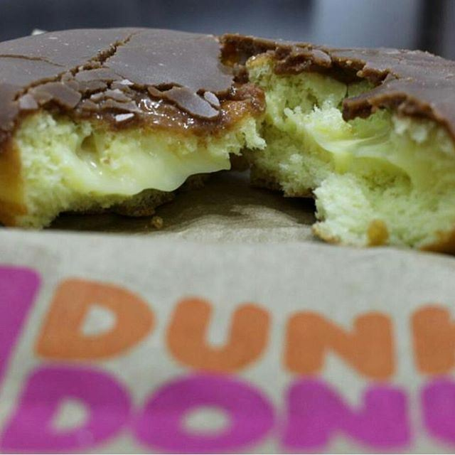 My Donuts feeds my smile all day long !! (Dunkin Donuts)
