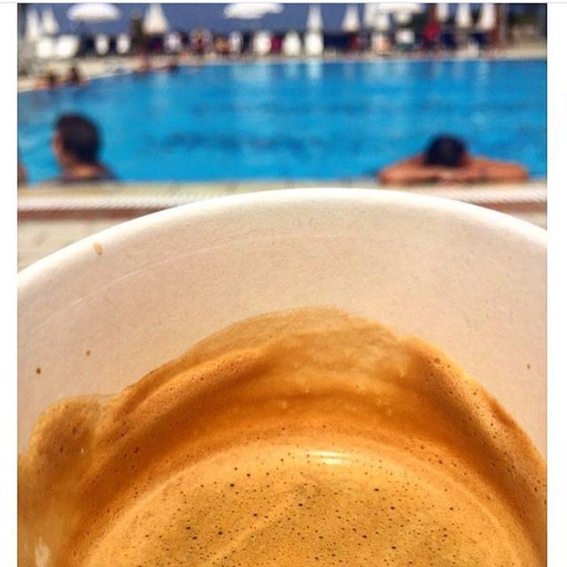 The perfect morning start with coffee and how came if the beach waiting for you !!! (ATCL - Jounieh)