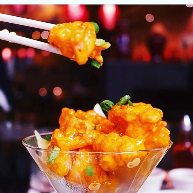 Small pieces with amazing taste @pfchangslebanon (P.F. Chang's Lebanon)