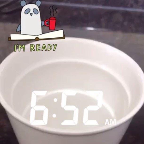 My coffee ready so i am ready .. (Achrafieh Sioufi)