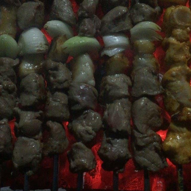 Every Day BBQ night.... This is Lebanon ... (Miramar Hotel Resort and Spa)