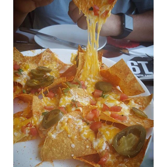 Part of the secret of success in my life is to eat what I like.... And what can be better than Nachos with cheese @crepaway photo capture via @jessicajaber (Crepaway)