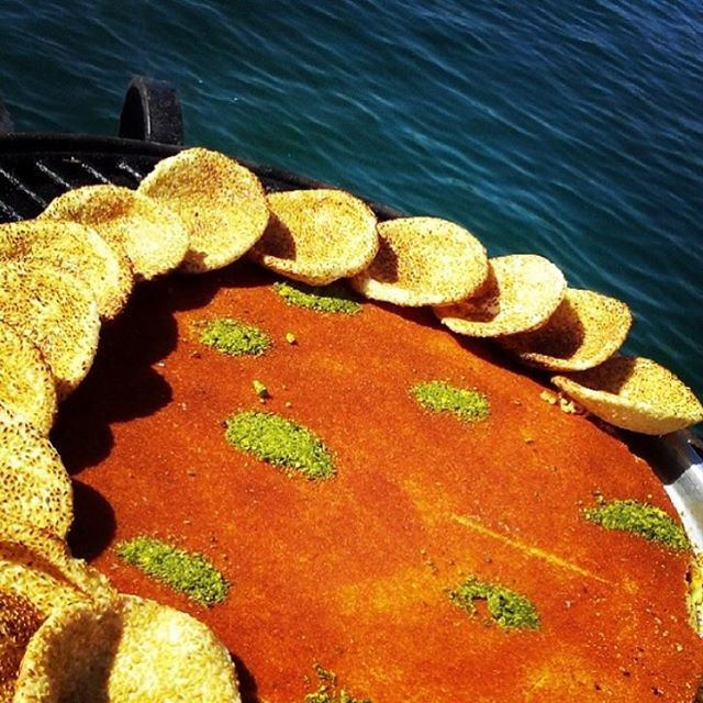 No Rules with the Lebanese Knefeh!!!! (Byblos Sur Mer)