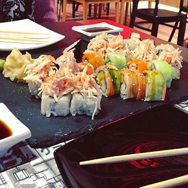 Life is simple and fresh like Sushi (The Village Dbayeh)