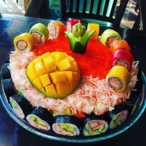 Sushi craving!!!! For Sushi lover!!!a Sushi cake !!! (Byblos Veronica)