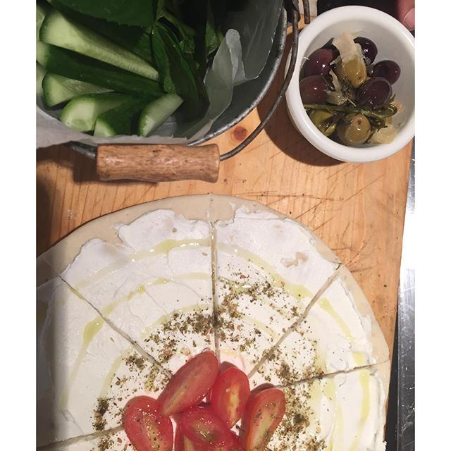 In love with my Lebanese morning Labneh... (At Home)
