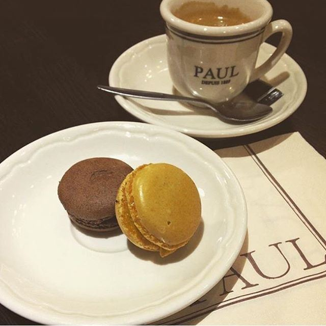 A good decision now for some macaroon and espresso!!!! (Paul)