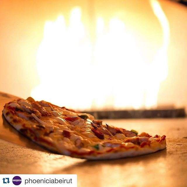 From the oven direct to you 👍👍❤️❤️🔥🔥🔥 (Phoenicia Hotel Beirut)