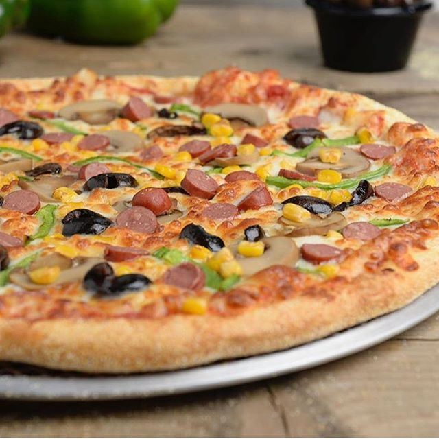We look at delicious pizza every day... (Pizza Hut)