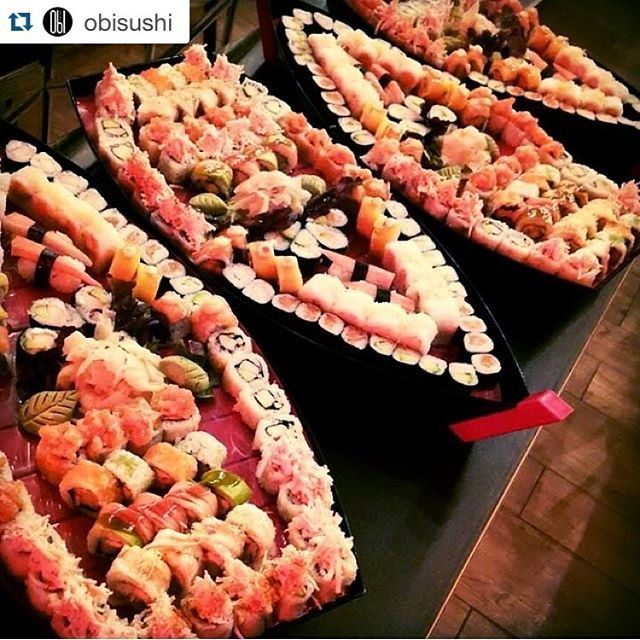 Our sushi boats never drown. No Titanic-s attached! (Obi --Abc Dbaye)