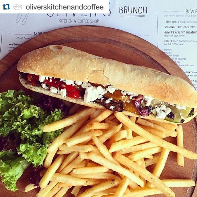 Dinner recommendation is: (Oliver's Kitchen & Coffee Shop)