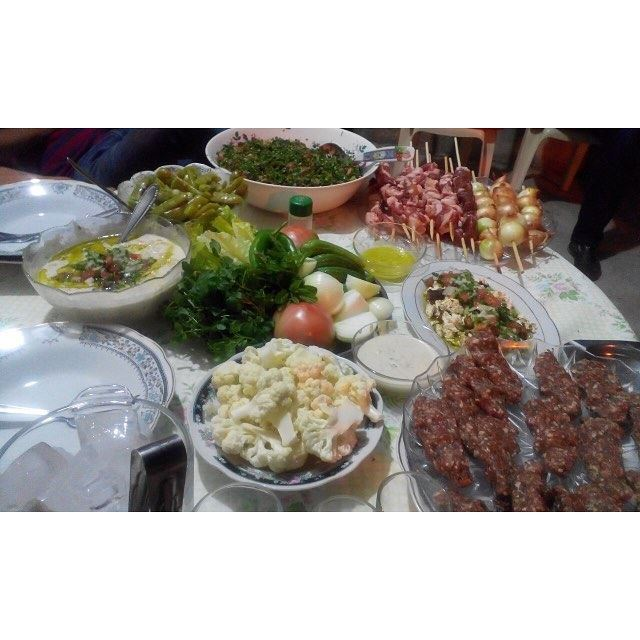 When it comes to the lebanese lunch, its all about how fresh it can be!!!