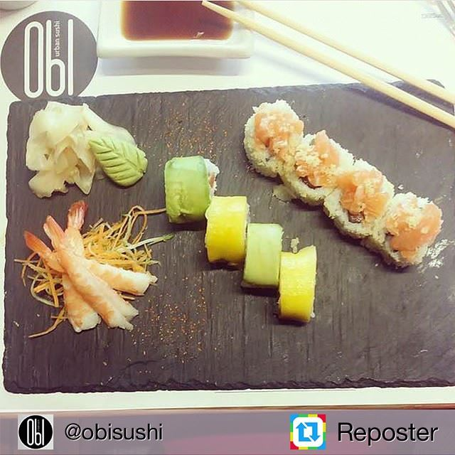 Repost from @obisushi by Reposter @307apps (OBI - Japanese Restaurant - ABC Ashrafieh)