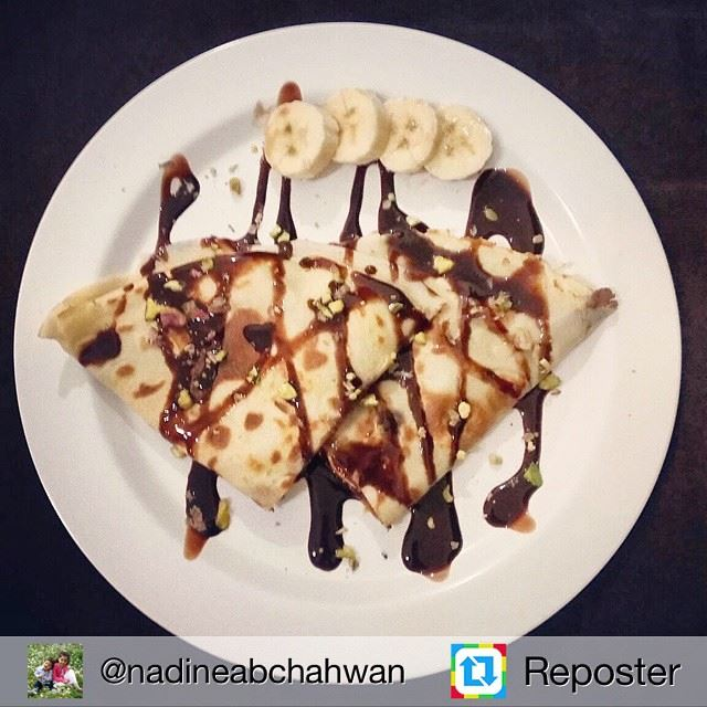 Repost from @nadineabchahwan by Reposter @307apps (Crêpico)