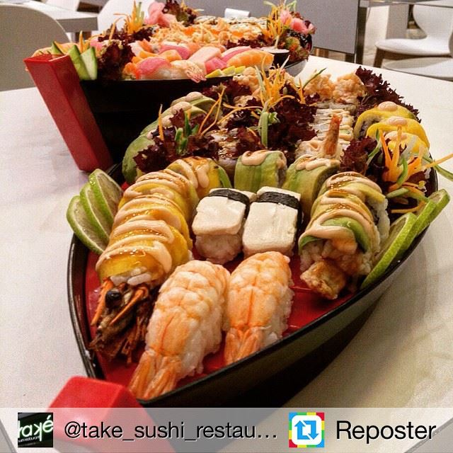 Repost from @take_sushi_restaurant by Reposter @307apps (Také Sushi)