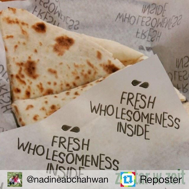 Repost from @nadineabchahwan by Reposter @307apps (Zaatar W Zeit - Le Mall)