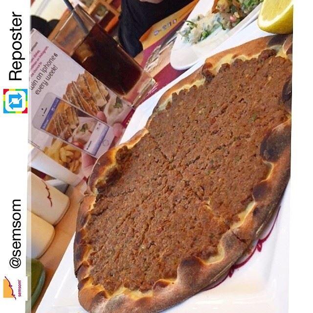 Repost from @semsom by Reposter @307apps (SEMSOM - Lebanese Cuisine)
