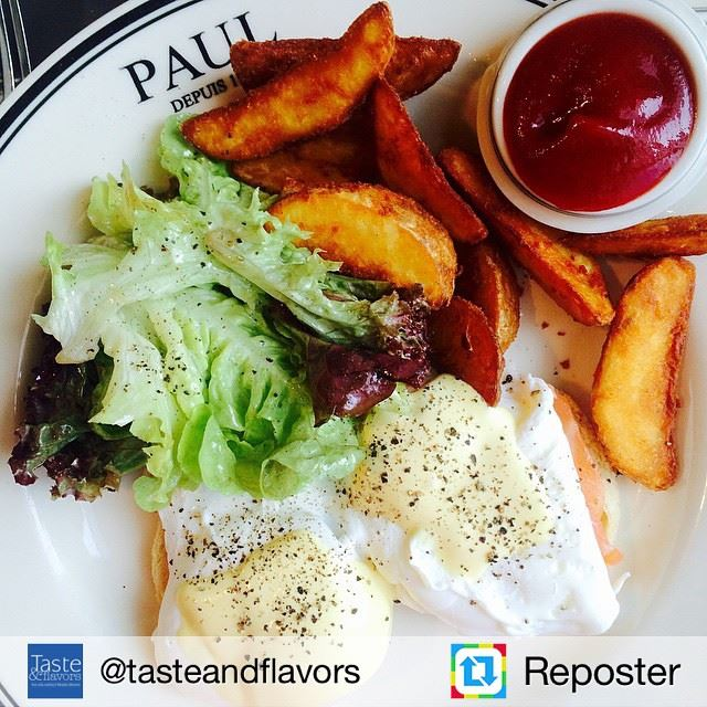 Repost from @tasteandflavors by Reposter @307apps (Paul - Le Mall - Dbayeh)