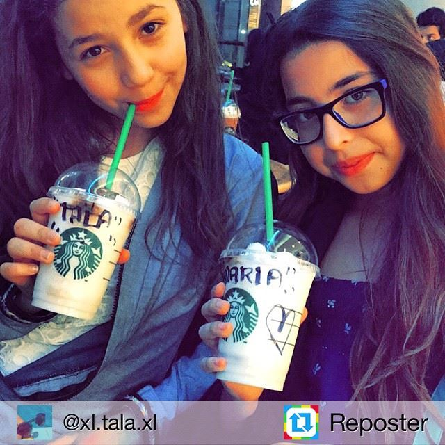 Repost from @xl.tala.xl by Reposter @307apps (Starbucks)