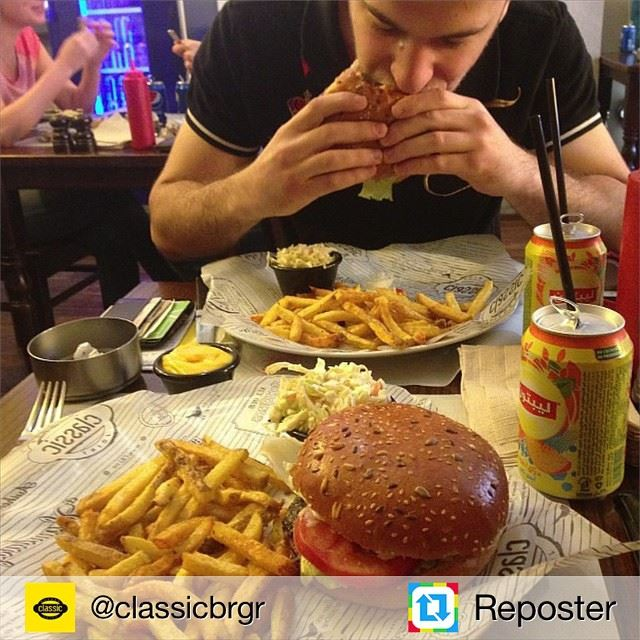 Repost from @classicbrgr by Reposter @307apps