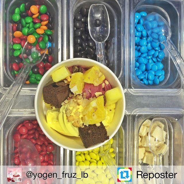 Repost from @yogen_fruz_lb by Reposter @307apps