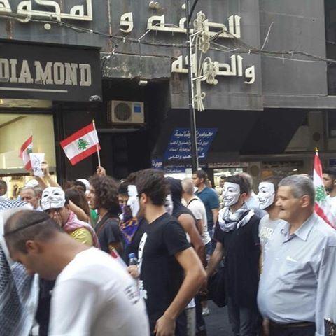 مسيرة الأمس شارك فيها جميع اللبنانيين من مختلف الطوائف و الطبقات الإجتماعية. توحدوا جميعاً لرفع الصوت و للمطالبة بقانون النسبية.