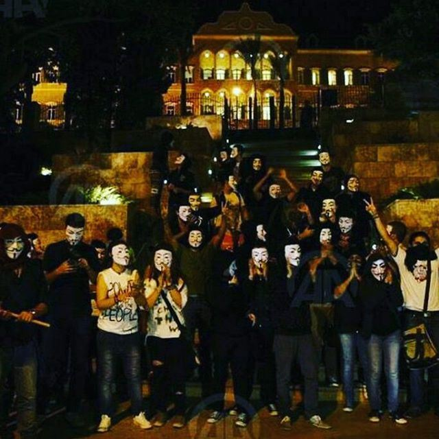 rEVOLUTION Takebackparliament 2016 Anonymous