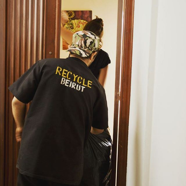 Every week we pick up from hundreds of households. Sign up to have your recycling picked up at recyclebeirut.com