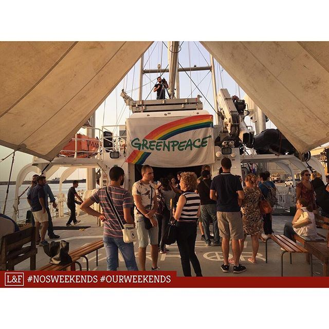 Le navire de Greenpeace à Beyrouth! / Greenpeace's boat in Beirut! ----- (Port of Beirut)