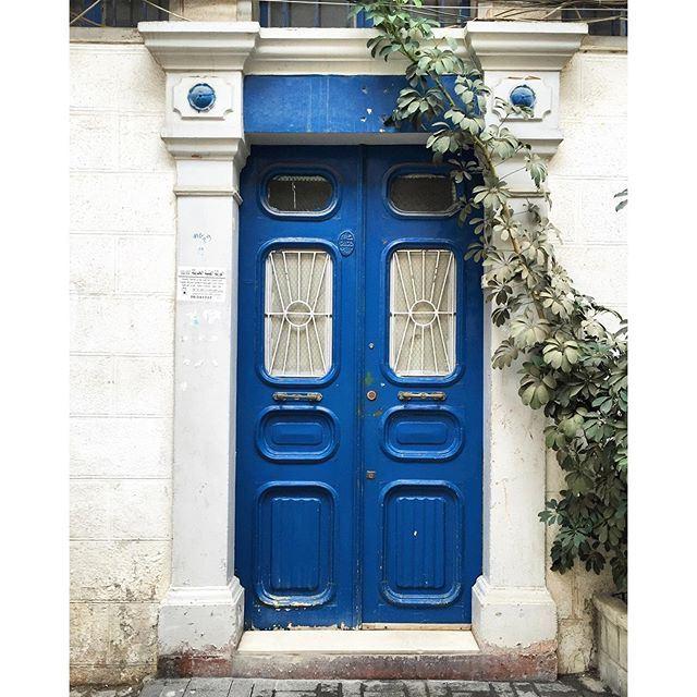 Doors of Tripoli 💙🌿 (Tripoli, Lebanon)