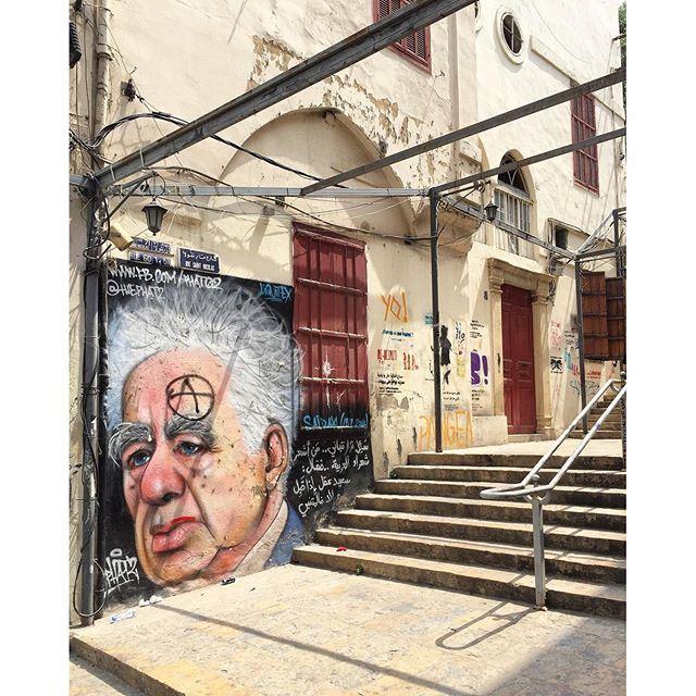 When time turns the city into a piece of art gemmayze (Gemmayze)
