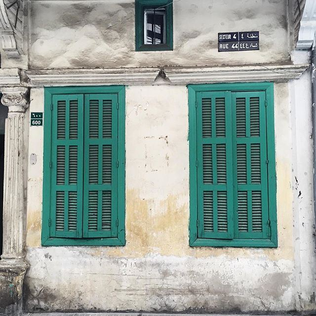 Almost-perfect symmetry 💚💚 (Beirut, Lebanon)