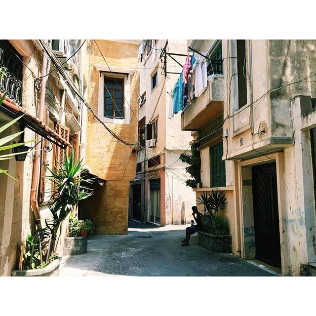 Have you ever got lost in Tripoli's streets ? [Photo by @nurturkmani] (El-Mina, Tripoli)