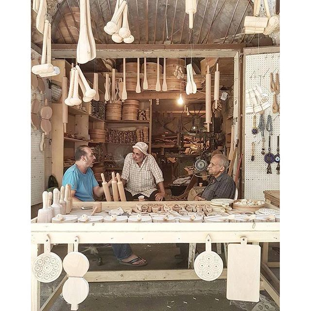 Wooden kitchenware shop in Tripoli - طرابلس ❤️ (Tripoli, Lebanon)