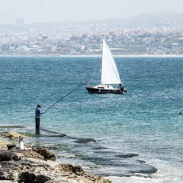 Waiting 🎣 (Sidon, Lebanon)