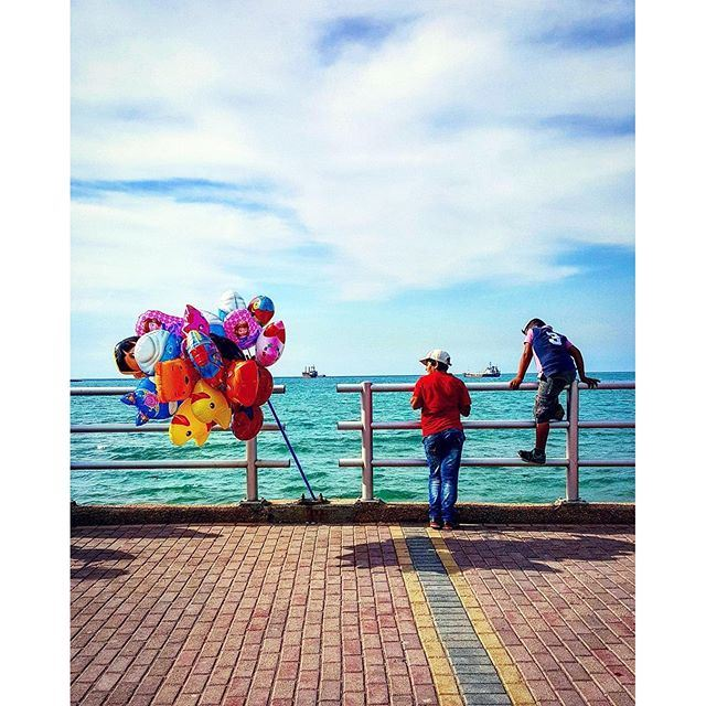 The earth is our playground 🎈🎏 [Photo by @ashraf_nas] (Sidon, Lebanon)