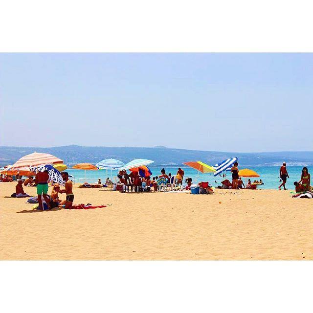 Nothing beats Tyr's shore 🏖🏖 (Tyre, Lebanon)