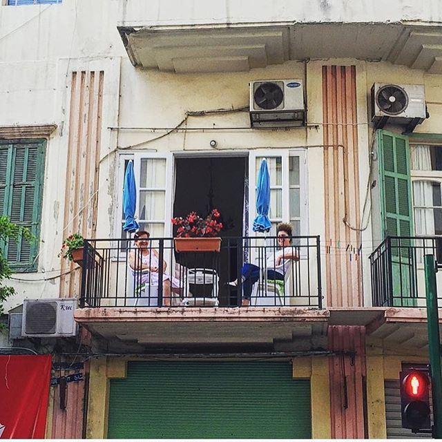 أحلى صبحيّة ❤️ (Mar Mikhael, Beirut)
