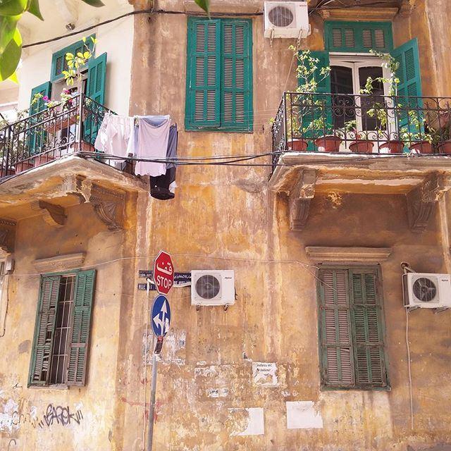 Stop and admire 💚 (Achrafieh, Lebanon)