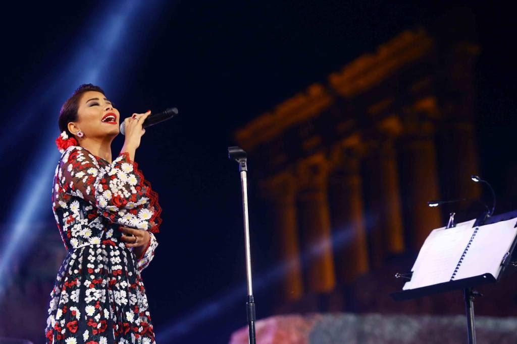 Sherine in Baalbek Festival 2016