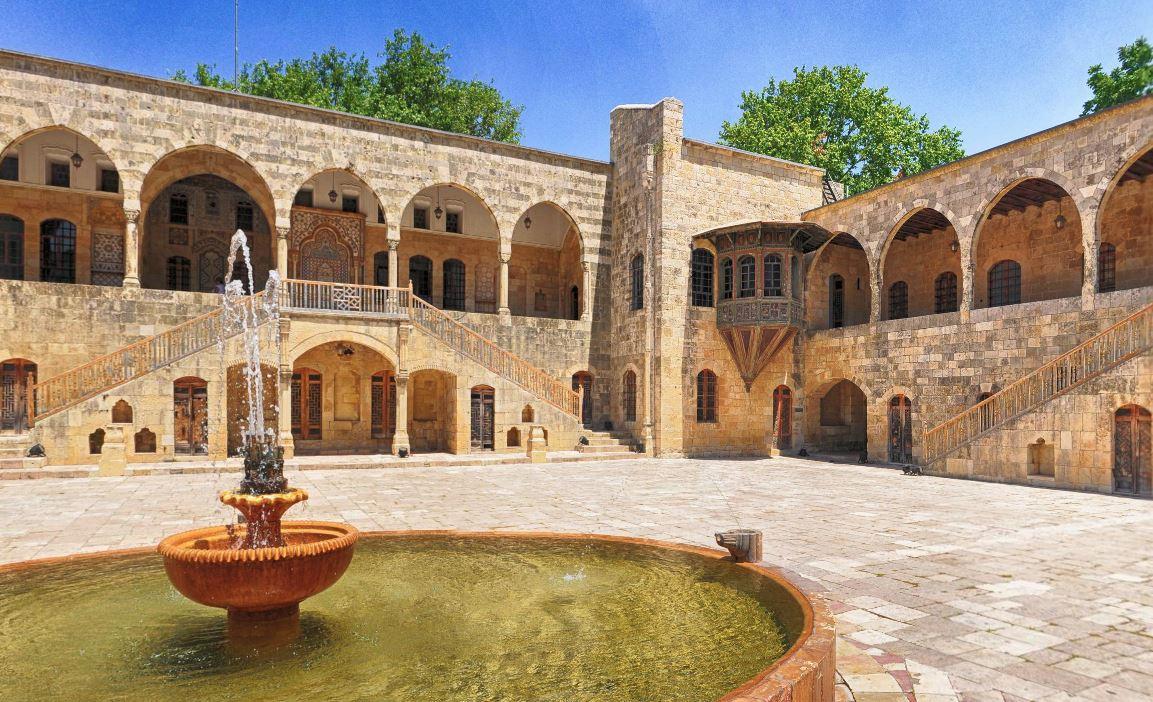 Beit Eddine Palace Panoramic 360 View
