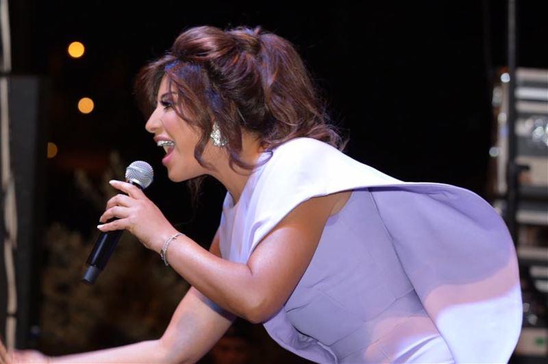 Najwa Karam at Hemlaya Festival 2016