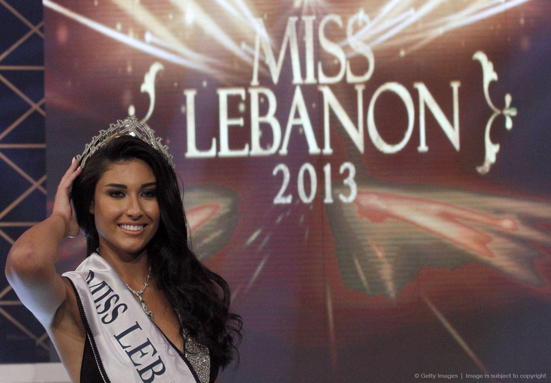 Karen Ghrawi - Miss Lebanon 2013