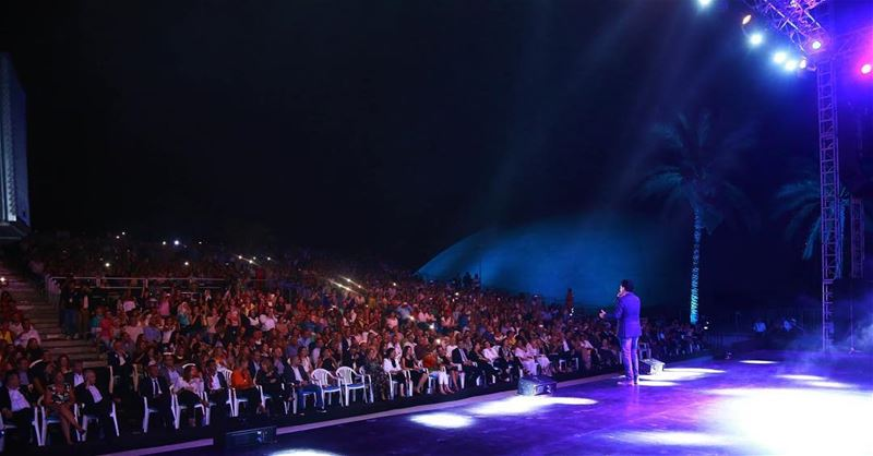 Ragheb Alama Performing in Tripoli Festival 2016